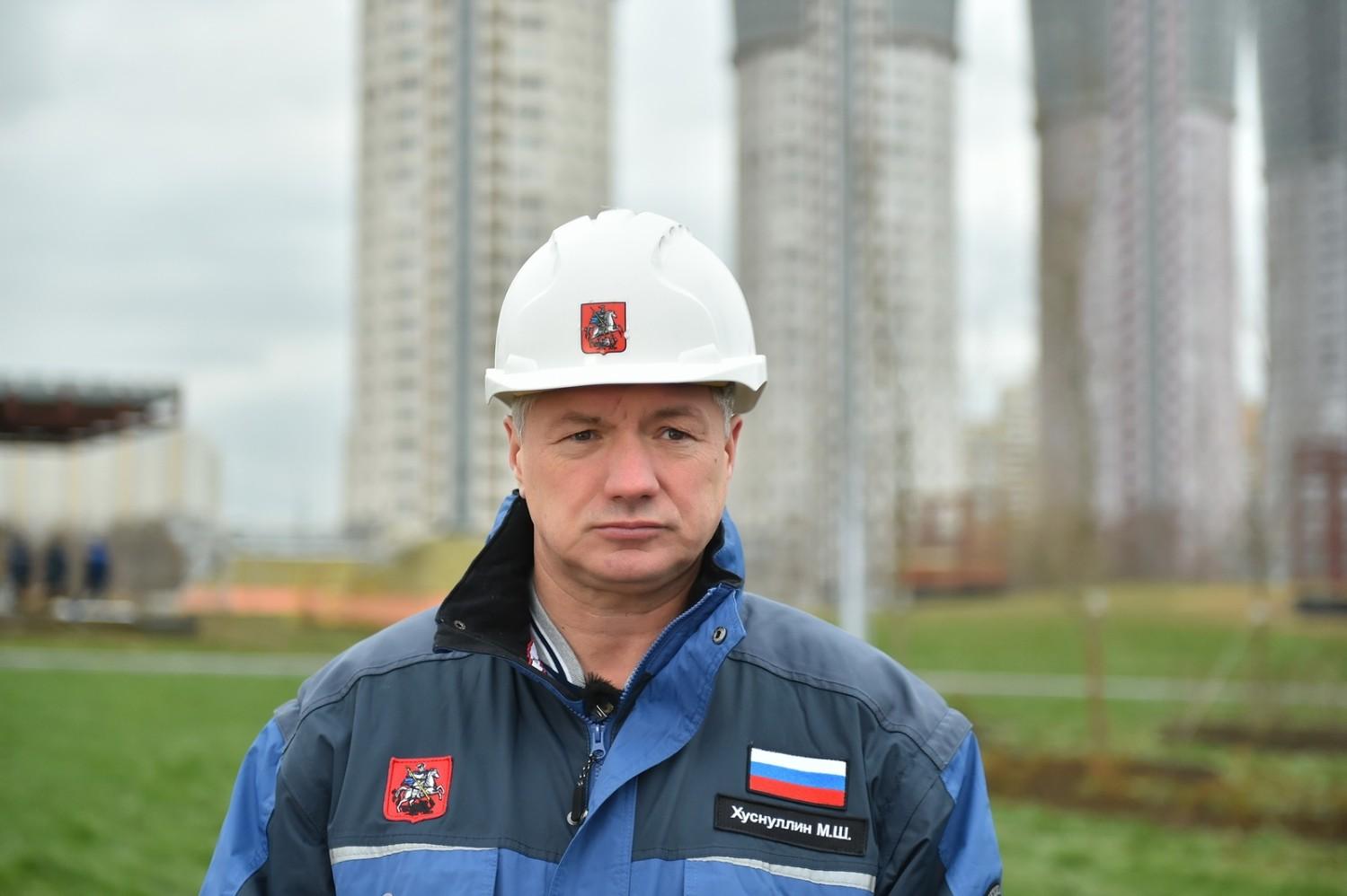 Марат Хуснуллин.Фото: www.stroi.mos.ru