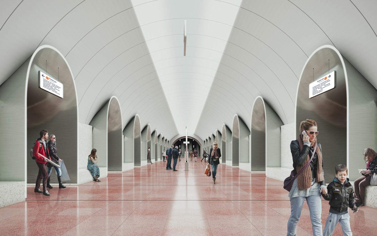 """Станция """"Ржевская"""". Фото: Stroi.mos,ru"""