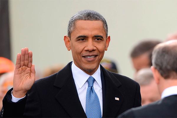 Обама принял присягу второй раз