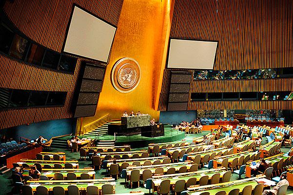 Россия и Украина разругались в ООН