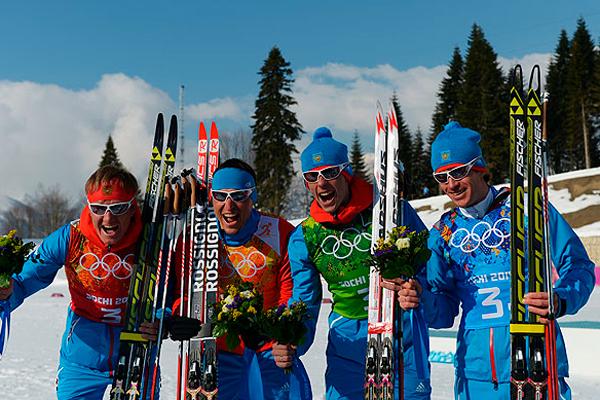 Лыжники принесли России медаль