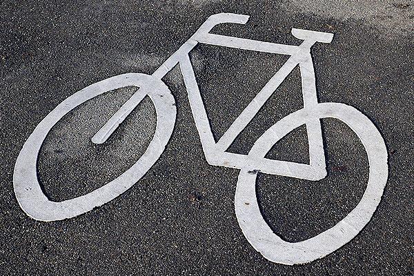 Велосипедист сбил пешехода