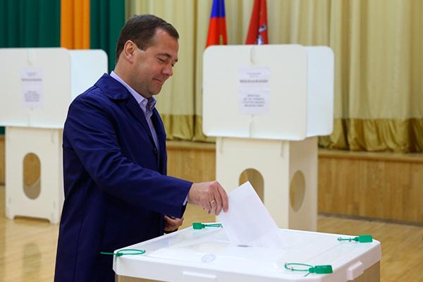 Медведев оценил выборы