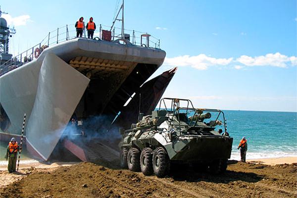 Российский десант высадился на Курилы