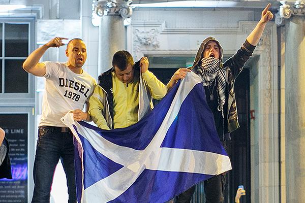 Шотландия изменит Великобританию