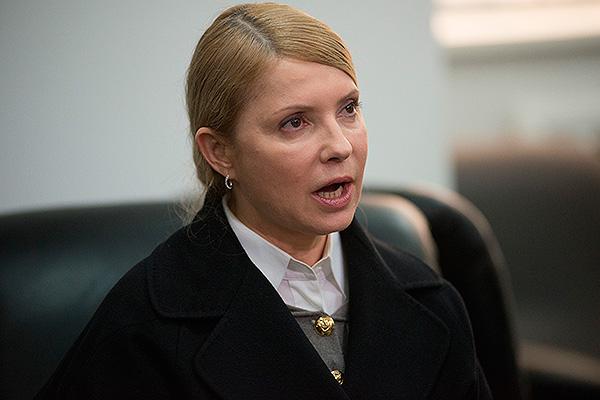 Тимошенко устроила истерику в эфире