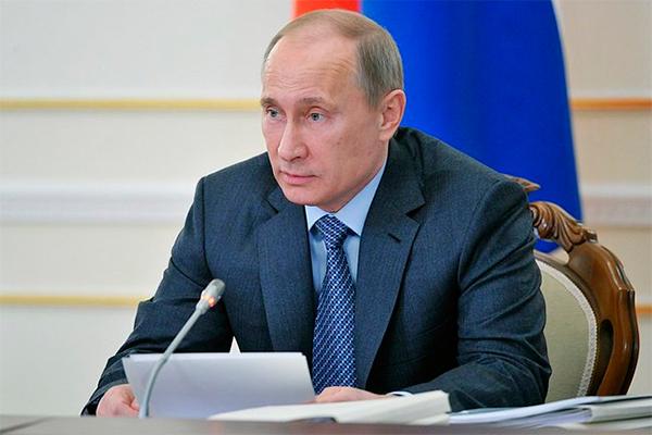 Путин написал руководству ЕС