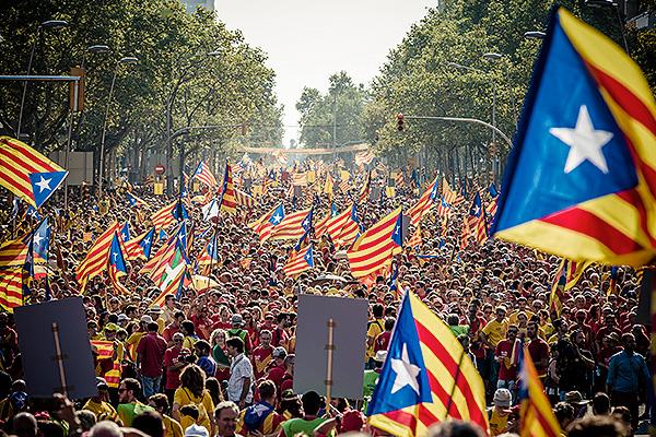 Испания не отпустит Каталонию