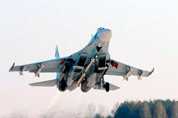Российский Су-27 напугал шведов