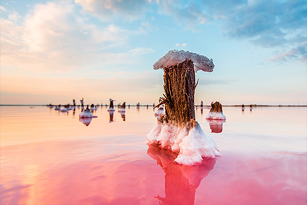 В Крыму возрождают добычу розовой соли