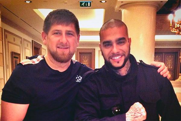 Кадыров поддержал Тимати в войне с Биланом
