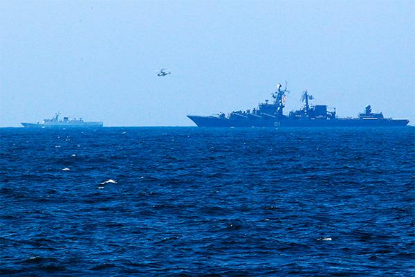 Российский флот возбудил австралийцев