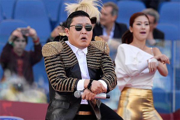 Сломанный YouTube в шоке от Psy