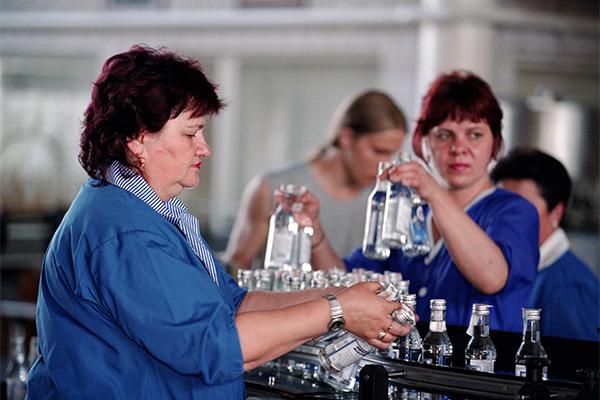 В России обрушился рынок водки