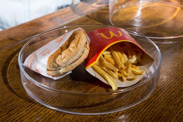 Исландец хранил бургер из McDonald's 6 лет