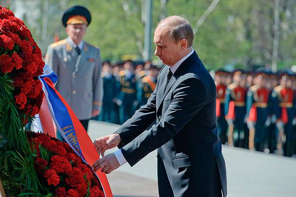 Путина зовут на День Победы в ФРГ