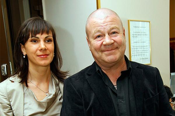 Сергей Селин с супругой Анной. Фото: GLOBAL LOOK press