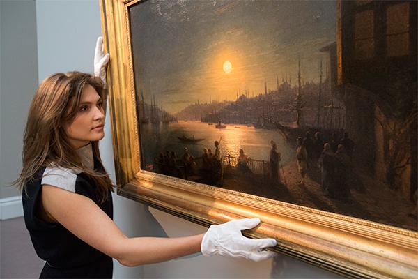 Айвазовского забрали из украинских музеев