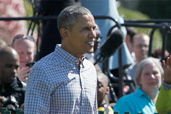 Обаму атаковали дикие пчелы