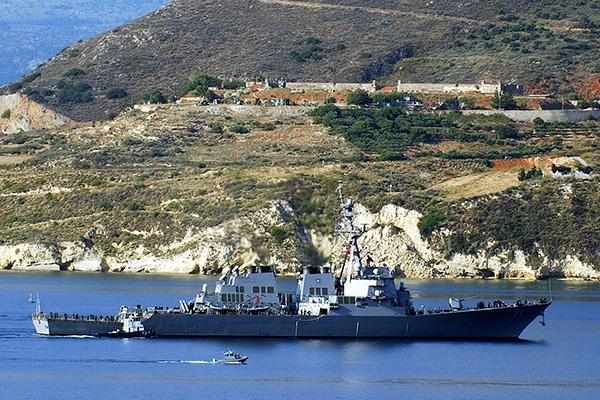 Корабль США войдет в Черное море