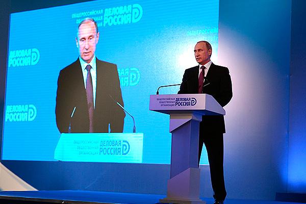 Путин рассказал об утечке талантов