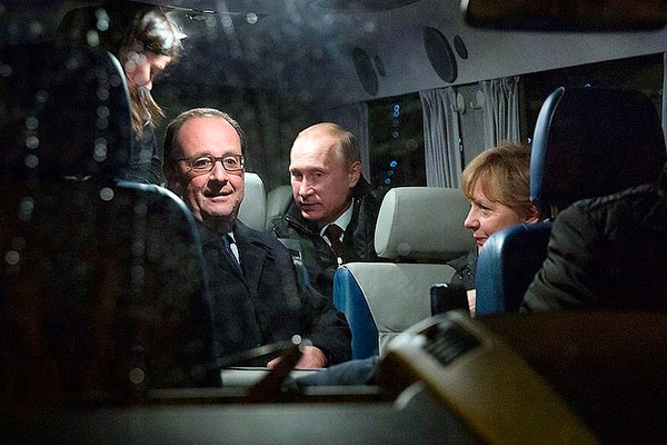 Меркель выложила в Instagram фото с Путиным