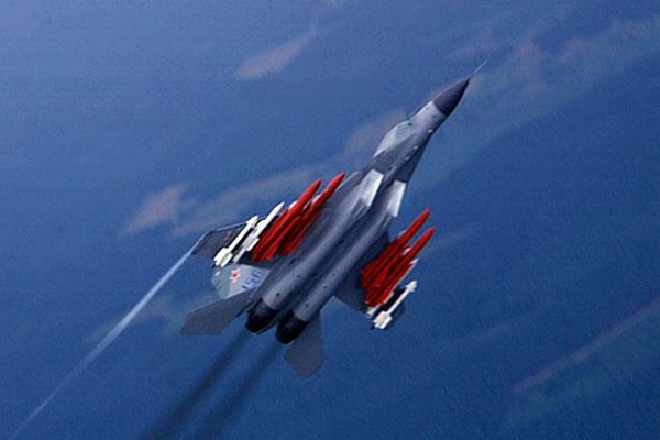 МиГ-29 сбросил бомбы перед крушением