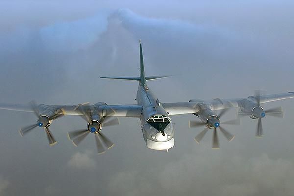 Ту-95 загорелся при взлете
