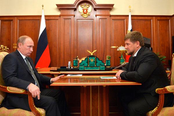Кадыров рассказал Путину про ДТП