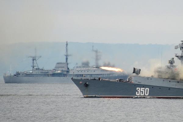 Путин празднует День ВМФ в Балтийске