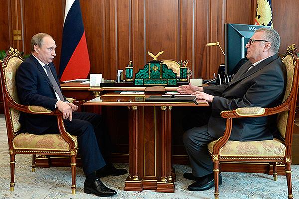 Путин обсудил с Жириновским детей