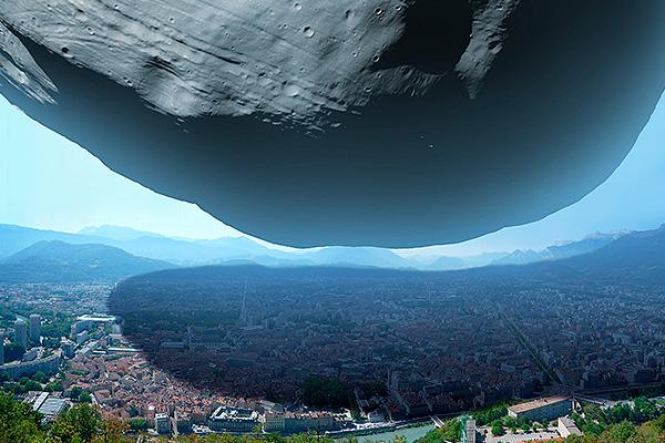 Названа дата падения метеорита