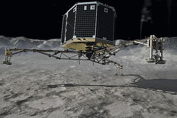 На комете Чурюмова – Герасименко есть жизнь
