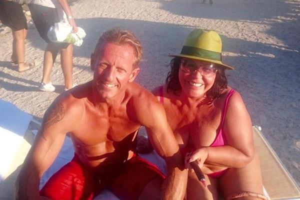 Паскаль и Надежда Бабкина. Фото: facebook.com/ngbabkina