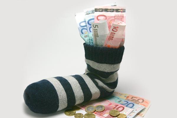 деньги в носках азино