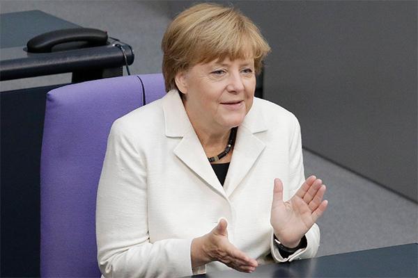 Работа с Россией воодушевляет Меркель