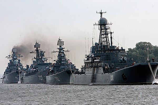 Россия отправила к Сирии корабль