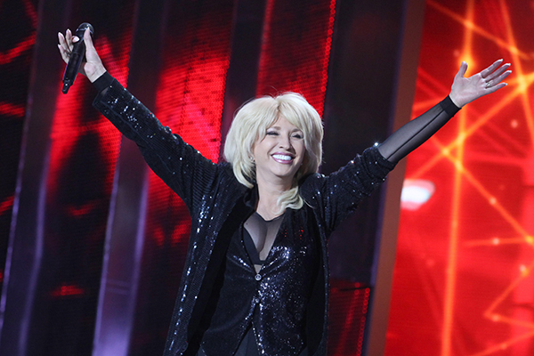 Ирина Аллегрова. Фото: Александр Хитров/БелТА/ТАСС