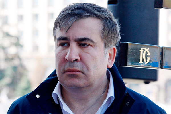 Саакашвили посадили в