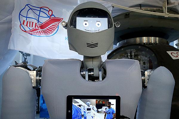 В России создан космический робот
