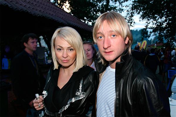 Яна Рудковская и Евгений Плющенко. Фото: GLOBAL LOOK press