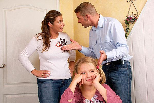 как разделить детей при разводе