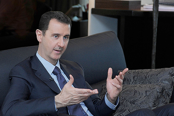 Асад оценил ущерб от войны в Сирии