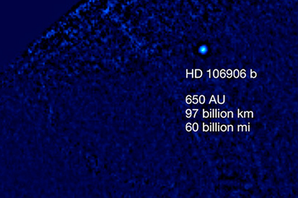 Найдена загадочная планета-изгой