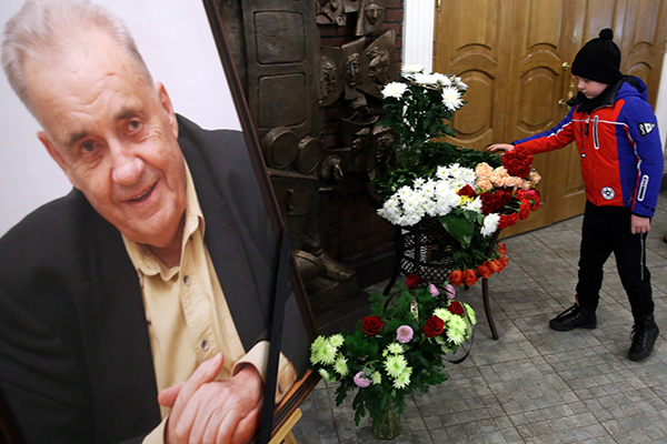 Москва прощается с Рязановым