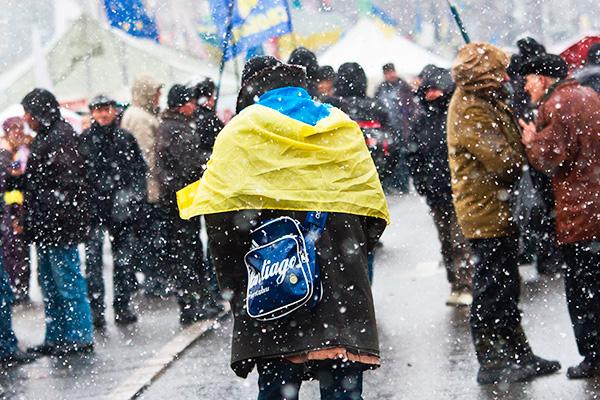 Морозы заставили Киев вспомнить о Москве