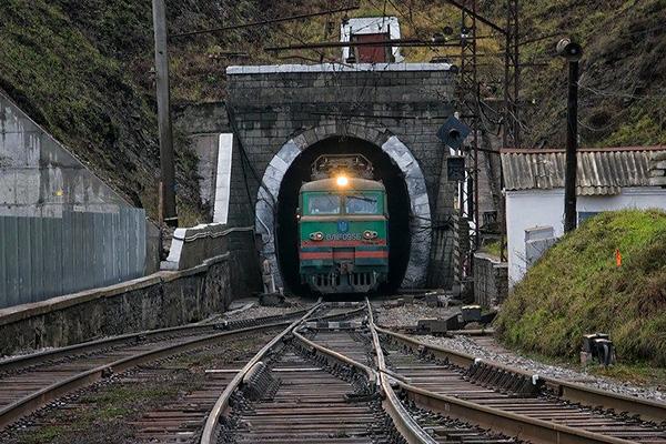 Украинский поезд потерялся в Казахстане