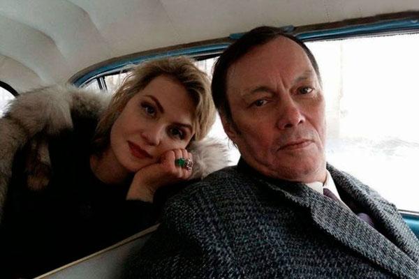 Рената Литвинова и Василий Горчаков. Фото: facebook.com/vasily.gorchakov