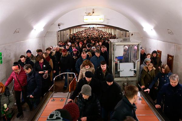 Москвичи разгневаны коллапсом в метро