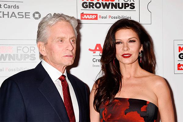 Майкл Дуглас и Кэтрин Зета Джонс. Фото: GLOBAL LOOK press/AAPimages